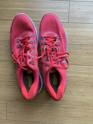 037716e6c965 NIKE LUNARGLIDE LIVESTRONG Red Pre Owned Mens Running Shoes Size 14 ...