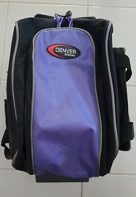 Denver Bowling Bag on wheels and Bowling  size 10 Ball.