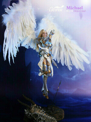 "Back order LUCIFER 1/6 LXF1703 Wings Of Dawn ""Michael"" Archangel DELUXE version"