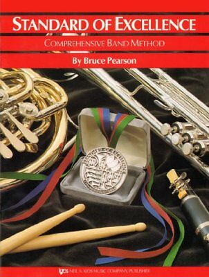 Standard Of Excellence: Comprehensive Band Metho... by Pearson, Bruce 0849759293