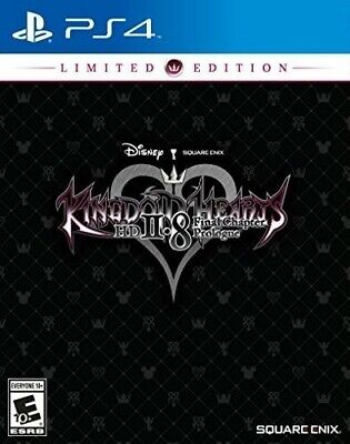 kingdom hearts 2.8 HD Final Chapter Prologue Limited Edition