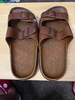 e5b9a3762 Pali Hawaii Beach Jandal Buckle Jesus Hawaiian Rubber Slip On Sandal Size 13
