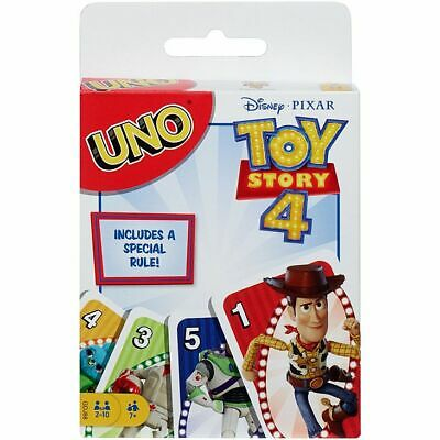 UNO Toy Story '4' (Disney Pixar) Card Game BRAND NEW by Mattel