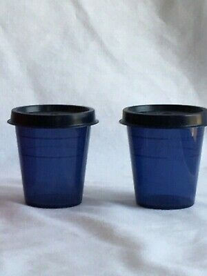TUPPERWARE Tupper Minis (Midgets) Set of 2 New FREE US SHIPPING - BPA FREE