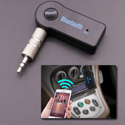Car Wireless USB 3.5mm Aux Mini Bluetooth Receiver Stereo Audio Music Adapter