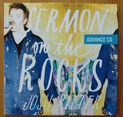 JOSH RITTER Sermon On The Rocks  PROMO CD ALBUM