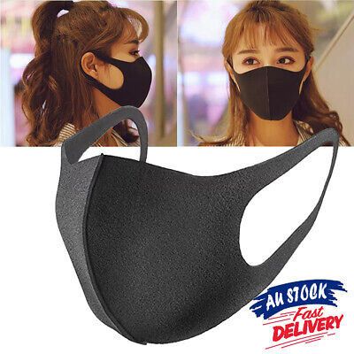 1/3Pcs Mouth Face Mask Anti Dust Respirator Surgical Mask Earloop Washable
