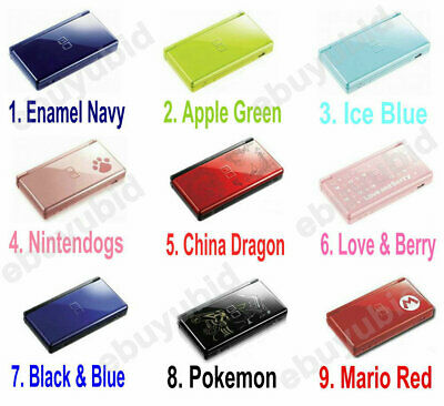 Nintendo DS Lite Console Handheld Gaming System Video Game Console
