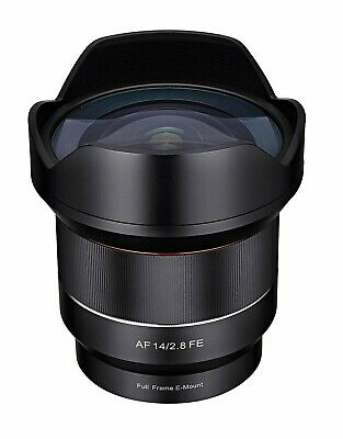 Samyang 14mm f/2.8 AF Auto Focus Wide Lens Sony FE A7 A7R A7S A9 - New UK Stock