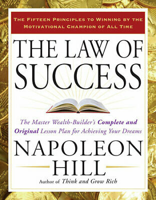 The Law of Success in Sixteen Lessons By Napoleon Hill Self Help (PDF)