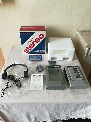 Walkman Sinudyne PD-551 Cassette Player Anni 70.Nuovo