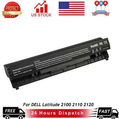 Battery For DELL Latitude 2100 2110 2120 P/N# 451-11456 453-10041 F079N J017N