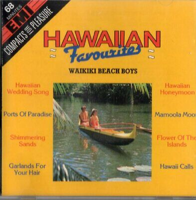 Waikiki Beach Boys - Hawaiian Favourites - Waikiki Beach Boys CD C5VG The Cheap