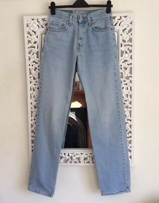 Vintage Classic Blue Levis 550 Relaxed Fit Denim Jeans, UK Size 10 Immaculate