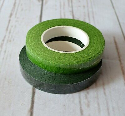 Florist Stem Tape - assorted colours Wire Work Buttonholes Craft