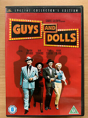 Marlon Brando Frank Sinatra Guys And Dolls 1952 Musical Clásico GB DVD