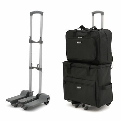 Sewing Machine Trolley Bag. Trolley Detaches, Fits all Home Machines Black