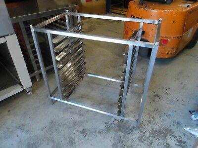 Stainless Steel Bake Off Oven Stand 980 mm x 560 mm £125 + Vat