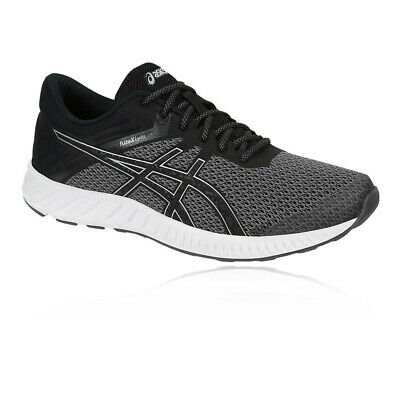 quality design 9a101 a4a8e Asics Mens Fuze X Lyte 2 Running Shoes Trainers Black Sports Breathable