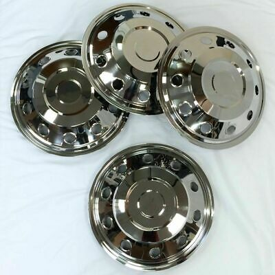 Universal 16 inch wheel trims stainless steel
