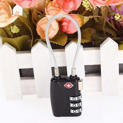 Hot Code Padlock 3Dial TSA Approved Luggage Security Lock For Travel Suitcase か