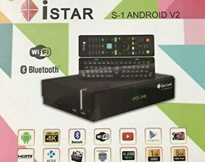 ISTAR KOREA S1 V2 Android 4K 1 Year Free Online Tv 3400 channels,الافضل  والاقوى