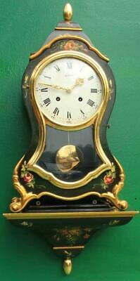 Le Castel's Swiss Boulle Type Bracket Clock Numbered 28757