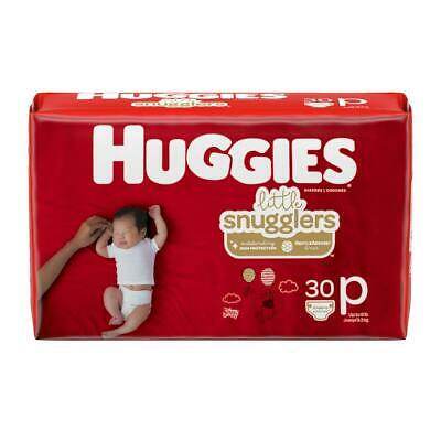 HUGGIES Little Snugglers Preemie Disposable Baby Diapers  *Free 2 day shipping