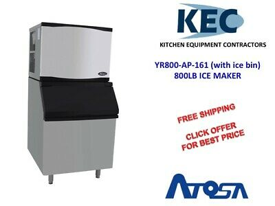 Atosa YR800-AP-261 LB ICE MAKER with 400 LB ICE BIN