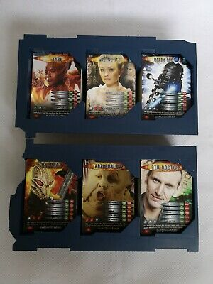 Dr Who Battles in Time Collectable Trading Cards Near Complete Set Joblot