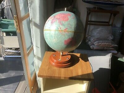 Vintage Philips Denmark Paper Covered Globe