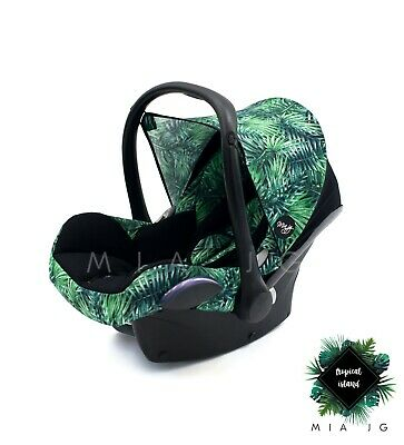 Colourpack to fit Maxi Cosi Cabriofix or Pebble!  Monstera :)