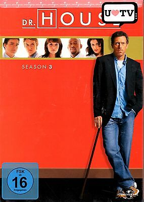 DR. HOUSE: Die komplette Season/Staffel 3 - DVD-BOX - Hugh Laurie - NEU in Folie