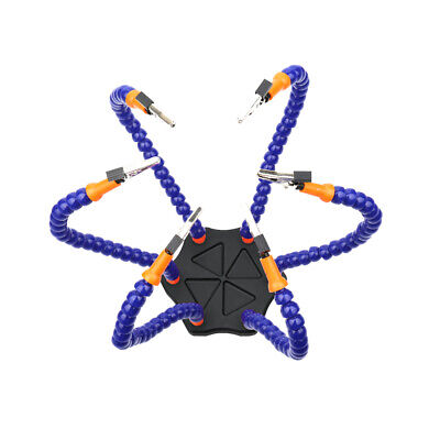 Multifunctional Soldering Helping Hands with 6pcs Flexible Arms for Circuit U5X2