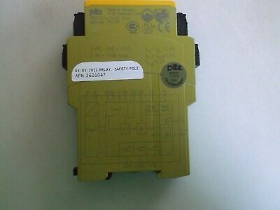 Pilz Safety Relay PNOZ e3.1p 24vdc 2n/0