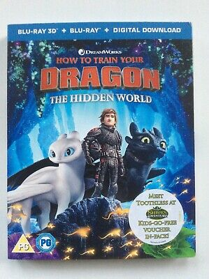 How to Train Your Dragon: The Hidden World (3D+2D Blu-ray) Ships From US Seller