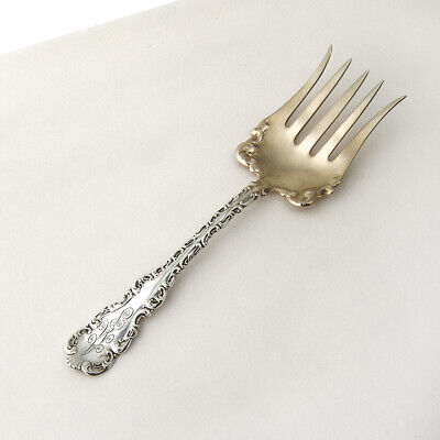 Louis XV Sardine Fork Sterling Silver Whiting 1891