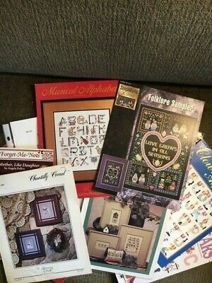 #1 Assorted Cross Stitch Pattern Booklets - Many Themes & Styles - You Choose