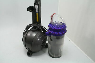 Dyson Cinetic Big Ball Animal Upright Vacuum Silver BASE AND CANISTER ONLY