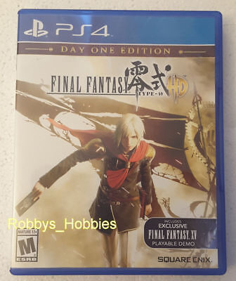 PS4 Playstation 4 Final Fantasy Type-0 HD Agito Day One Edition