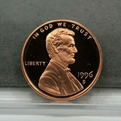 1996-S 1c Lincoln Cent Penny Proof Coin