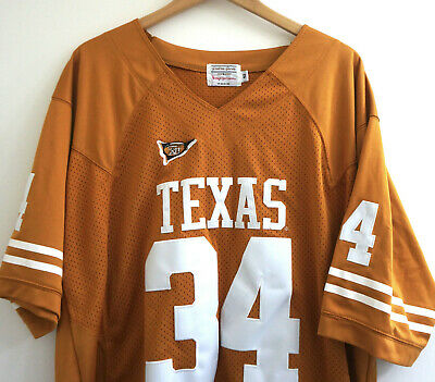316a23eac5653 Vintage 1998 Texas Longhorns NCAA Ricky Williams Authentic Jersey Size XL 52