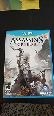 Assassin's Creed 3 Wii U complete GREAT CONDITION!