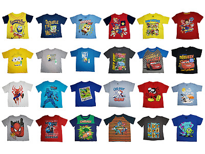 *nwt - Toddler Boy's Licensed T-Shirt - Size: 2T - 5T