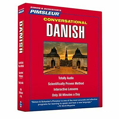 Pimsleur Danish Conversational Course - Level 1 Lessons 1-16 CD: Learn to Speak