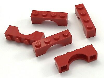 LEGO Lot of 4 Traditional Brown 1x6 Brick