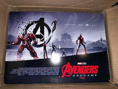"5x AVENGERS ENDGAME AMC IMAX EXCLUSIVE POSTER 11"" x 15.5"" Week 1 Of 2"