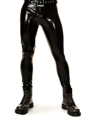 Latexhose Black Rubber Latex pants Gummi Ganzanzug Anzug trousers