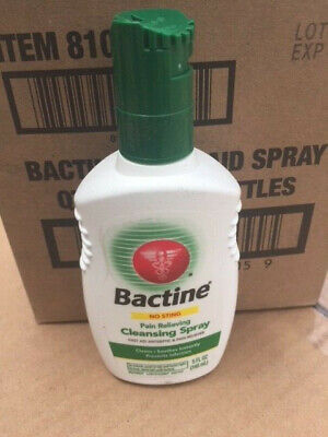 Bactine Pain Relieving Cleansing Spray Soothing Infection Protection 5 oz (NEW)