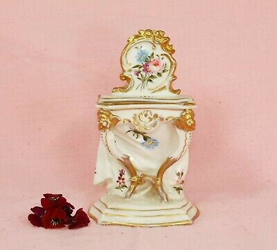Possibly Schierholz Porcelain - Rococo style furniture piece - 19th C